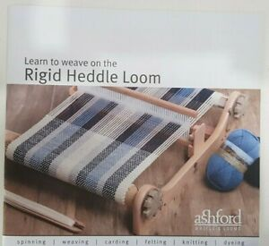 Learn to Weave on the Rigid Heddle Loom Full Colour Instruction Booklet 14 Pages