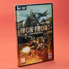 IRON FRONT LIBERATION 1944 PC - Seconda guerra mondiale WW2 nuovo in italiano