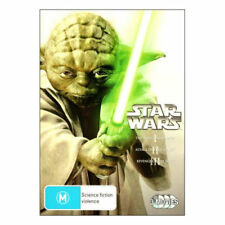 STAR WARS (PREQUEL TRILOGY - 3 DISC DVD SET SEALED + FREE POST)