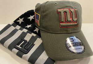 New York Giants Salute to Service Adj Hat and USA Knit Hat
