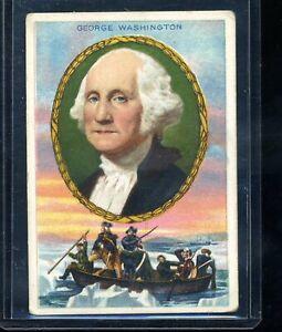 1911 T68 Heroes of History George Washington Royal Bengals Back