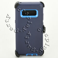 Samsung Galaxy Note 8 Hard Case Cover w/Clip fits Otterbox Defender (Navy/Blue)