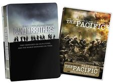 Band of Brothers (DVD, 2010, 6-Disc Set) with Pacific Part One in Tin Case *New*
