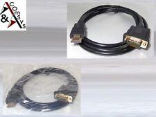 1.5m Premium Kabel VGA - HDMI 15Pin Bildschirm Monitor SVGA Ferrit D-Sub St./St.