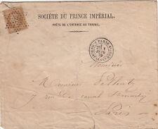 Enveloppe n°29 Etoile 39 R.Des Ecluses ST Martin Société Prince Imperial Cover