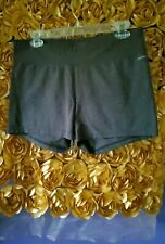 Sportswear Shorts Fitness Jockey Grey Gray Stretch Fitted Shorts Booty Shorts XL