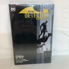 DC BATMAN DETECTIVE COMICS HC VOL 09 Gordon at War (NEW & FREE SHIPPING)