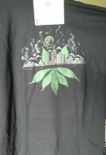 local art work denver colorado skyline marijuana t shirt weed apparel unique