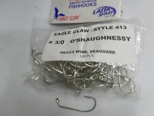 EAGLE CLAW ---413--   # 3/0 JIG HOOK       - 100 PCS PER PACKAGE