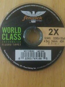 Fenwick Wofld Class Freshwater Fluoro Tippet 2X 9.94lb Fishing Line