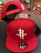 Houston ROCKETS Snap Snapback 9Fifty New Era 950 CAP Hat OSFA NBA RED WHITE