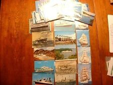 Lot of Approx. 72 Antique & Vintage Ship Post Cards
