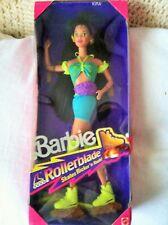 Barbie ROLLERBLADE KIRA Doll w FLICKER 'N FLASH SKATES! 1991 very good  Vintage