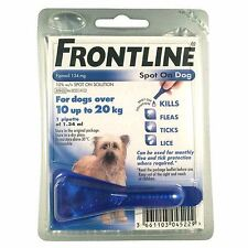 Frontline Spot On Pest Treatment for Medium Dogs 10-20Kg - 1 pipette - AVM - GSL
