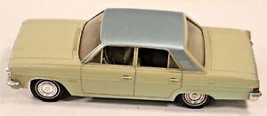 Vintage 1965 Rambler American Classic 2 Tone Friction Promo Plastic Car
