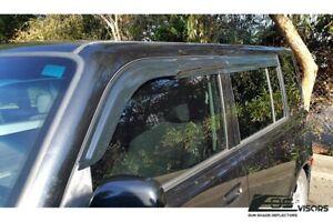 EOS Visors For 04-07 Scion xB JDM MUGEN Style Side Window Rain Deflectors Guard