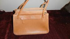 TOD's Tan/Camel Leather Shopper/tote EUC Clean!