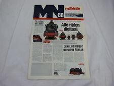 Marklin: Modelbaan Nieuws 88 NL