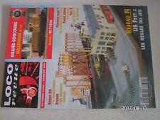 **a2 Loco Revue n°640 BB 71000 / Le Transpyrénéen en H0 / 232 U1 Fulgurex en N