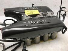 13 FERRARI 458 F136 COMPLETE 4.5 V8 OEM CARBON FIBER INTAKE MANIFOLD 10-15
