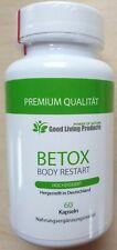 Betox Body Restart Kur Entschlackung Abnehmen Darm-Flora 60 Kapseln Kombuchatee