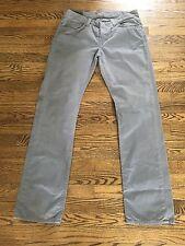 J Brand Men's Kane Slim Straight Leg Pants Artisan Dunewood Size 34