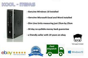HP Elite 8000 Mini PC LEGIT WINDOWS 10 & OFFICE & 500gb HD - Reliable Seller
