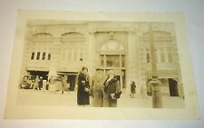 Antique American New York City Travel Fur Coats & Furniture Store Snapshot Photo