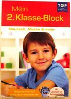DEUTSCH MATHE u.a. + Grundschule 2.Klasse Lernblock für das Lernen zu Hause /63