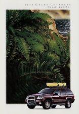 Jeep Grand Cherokee Mopar Zubehör Prospekt 1999 Autoprospekt Broschüre Auto Pkw