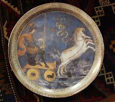 T. Limoges Dec. A La Main Porcelain Plate - Mars
