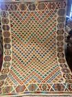 6X8 FT Handmade vintage Uzbek Maimana Vegetable Dye Natural Colors Wool Kellim