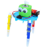 Learning DIY doodle robot technology invention education science experiment toy'