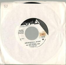 """Five Man Electrical Band, (You and I) Butterfly b/w Absolutely Right; 7"""" Pr 45"""