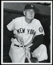 Bill Dickey 1952 Yankees Type 1 Original Photo by Don Wingfield Crystal Clear!