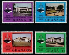 Ghana 1976 Centenary of the Supreme Court SG 778-781 MNH