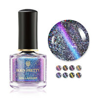 BORN PRETTY 6ml Holo Chameleon CatEye Nail Polish Magnetic  Varnish