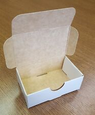 300 - 100 count White/Kraft Business Card Boxes (while Supplies Last)