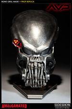 Sideshow Predator Bone Grill mask,replica,life-size,statue,bust