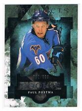 2011-12 PAUL POSTMA UD ARTIFACTS ROOKIE #198 THRASHERS #762/999