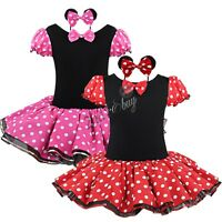 Girls Tutu Dress Fancy Costume Kids Dance Party Outfit Ballet Halloween Cosplay