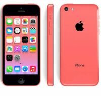 ** FAULTY ** Apple iPhone 5C 16GB/32GB 8MP Siri Unlocked Smartphone Parts PINK