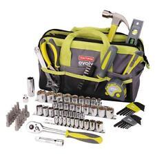 NEW Craftsman 83 pc Tool Set Kit + Bag, Sockets Wrench Pliers Ratchet SAE Metric