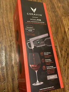 Coravin Model 5 Smartclamp Wine Preservation System In Graphite Brand New