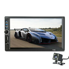 7inch DOUBLE 2DIN Car MP5 Player BT Tou+ch Screen Stereo Radio HD+Camera USA