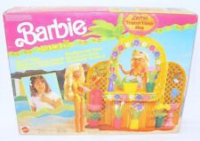 "Mattel BARBIE Hawaii ""TROPICAL FLOWER SHOP"" 12"" Doll Figure Play Set MIB`91 RARE"