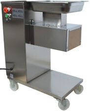 110V Stainless Steel Commercial Meat Cutting Machine Slicer 3mm Blade