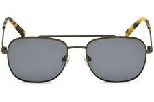 28155e8591 NWT TIMBERLAND Sunglasses TB 9122 97D Polarized Matte Dark Green   Smoke 55  mm
