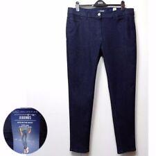 Indigo, Dark wash Plus Size High Rise L28 Jeans for Women