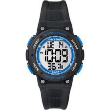 Timex Digital Mid Marathon Black Chronograph Watch TW5K84800